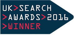 Search Award Winners UK