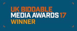 UK Biddable Media Awards - winner 2017