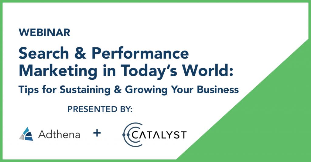 Catalyst webinar